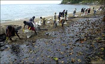 Petron Oil Spill in the Philippines