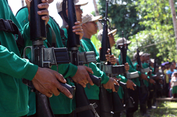 Reds frown at Duterte's ultimatum, call for more offensives