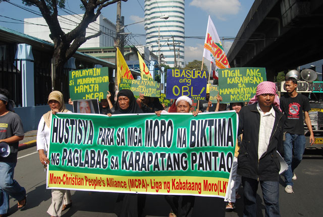 'Still no justice' in the Bangsamoro lands