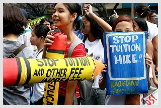 Makabayan bloc urges Congress: Fast track bills for tuition moratorium, regulation