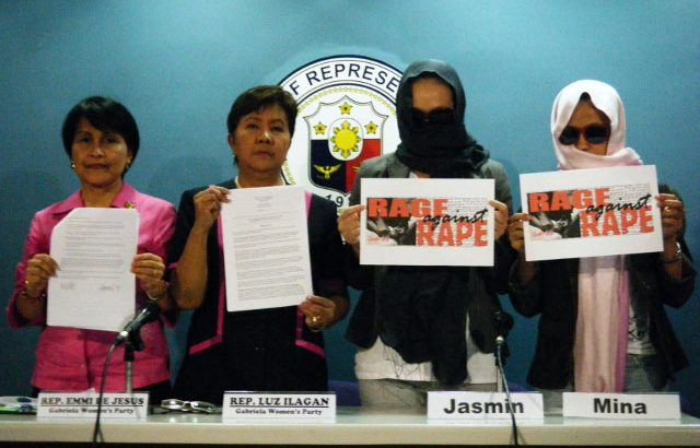 Gabriela urges celebrities to help end rape, not joke about it