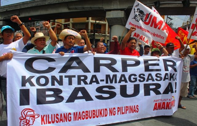 Peasant leaders call for land, justice