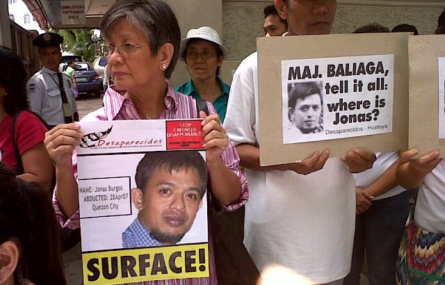 Burgos family slams military for paying bail of alleged rights violator