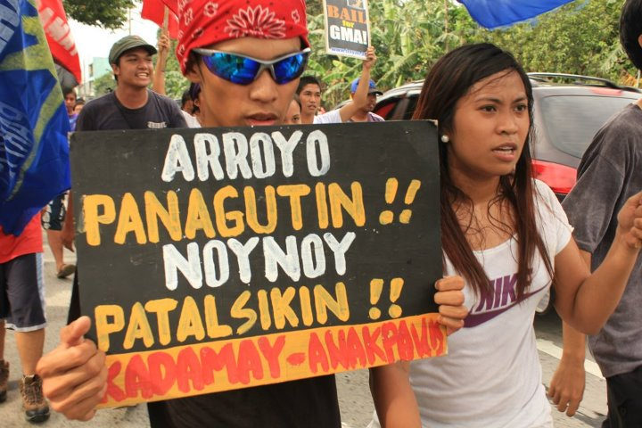 KMU criticizes Akbayan for supporting grant of bail for Arroyo