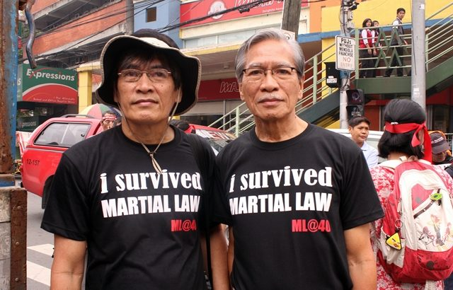 Life and survival under martial law