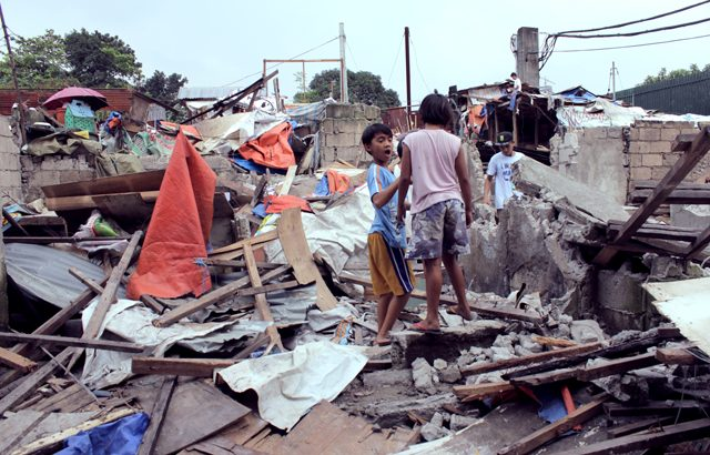 Aquino's legacy | Urban poor group decries continued demolition