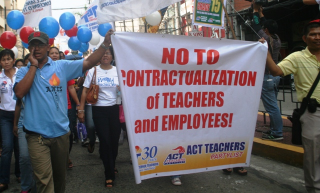 Group hits looming lay-offs in education department