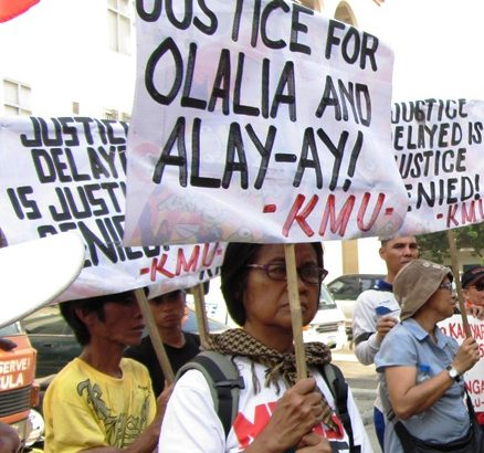 Gringo Honasan named as one of commanding officers of team that abducted, killed Olalia, Alay-ay