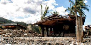 Typhoon Pablo aftermath