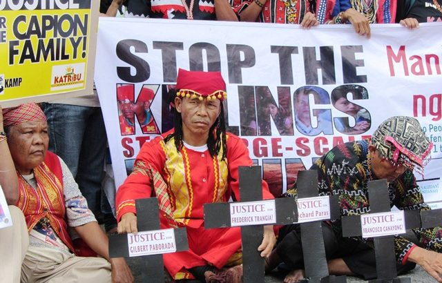 Lumad shot dead in Bukidnon 'bungkalan'
