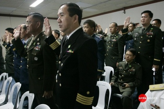 Año as army chief: 'a sad day for human rights victims'