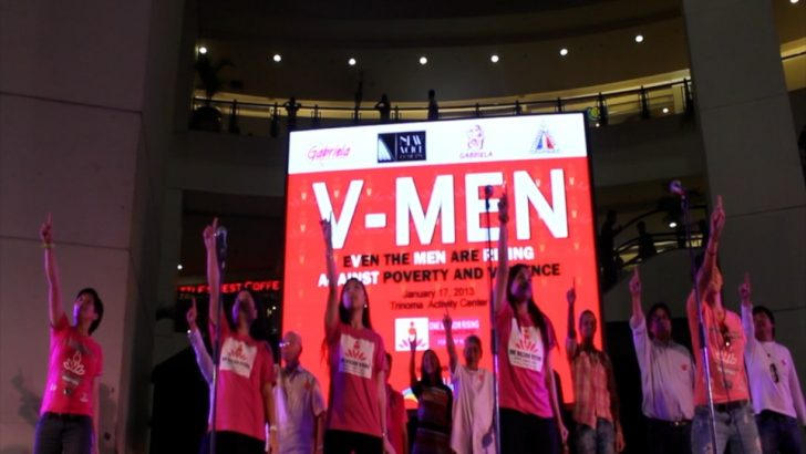 Global campaign to end violence against women launched in the Philippines