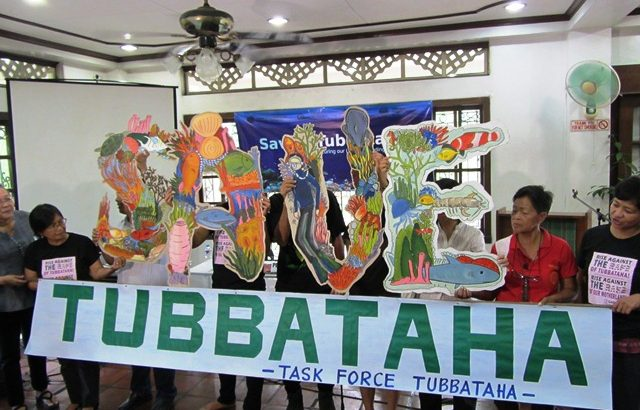 Groups ask why Aquino govt not running after US Navy for destruction of Tubbataha reef