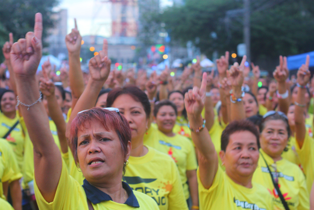 Slideshow: Philippines joins One Billion Rising to end poverty and violence against women