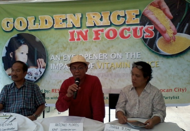 Golden rice, not the solution to Vitamin A deficiency