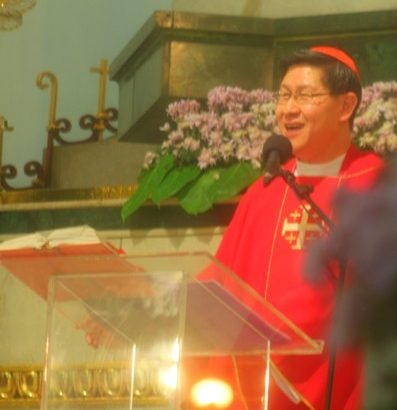 Cardinal Tagle calls on those holding Jonas, other desaparecidos to surface them