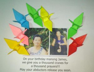 cranes for james balao