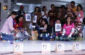 Family, friends celebrate birthday of missing activist