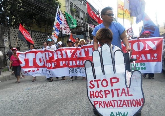 Health workers to intensify protests as gov't awards Orthopedic Hospital project to Megawide Corp