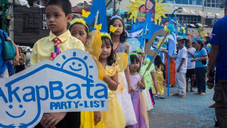 Partylist bares agenda for children