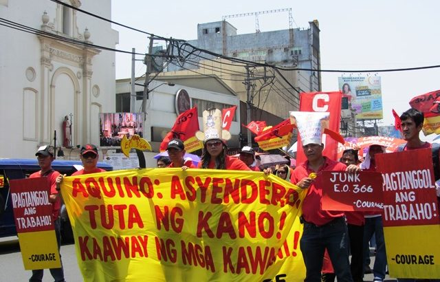 Workers identify contractualization as their biggest enemy