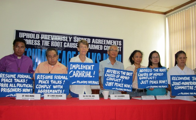 Church groups call on gov't to resume peace talks with Reds