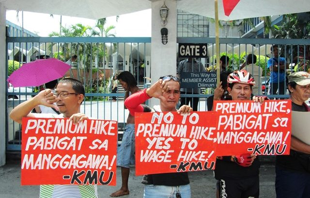 Why increase SSS premiums? workers' groups ask