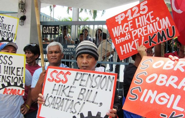 House approves a fraction of proposed SSS pension hike