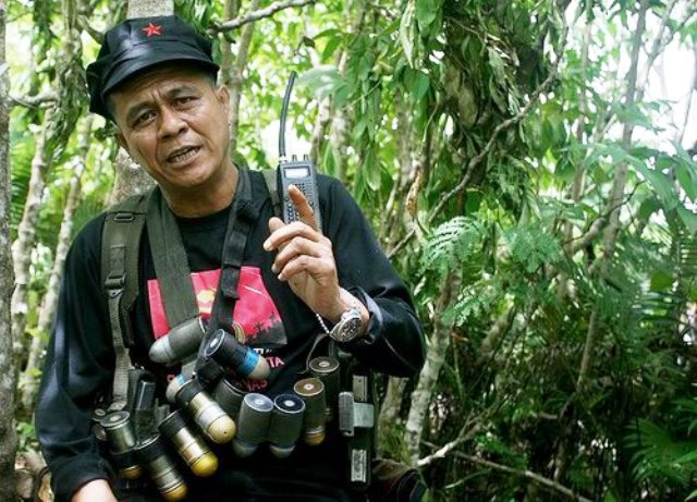 NPA commander Ka Parago. (davaotoday.com file photo by Barry Ohaylan)