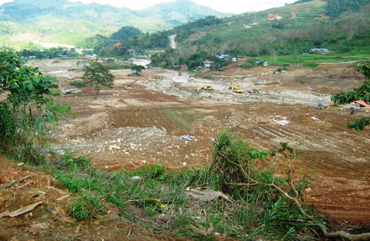 Where have all the ricefields gone? Nueva Vizcaya folk ask (Photo courtesy of KAMP, shot in Didipio, Kasibu, Nueva Vizcaya, 2012 / www.bulatlat.com)