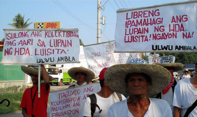 Agrarian reform in Luisita marred by terror, deception