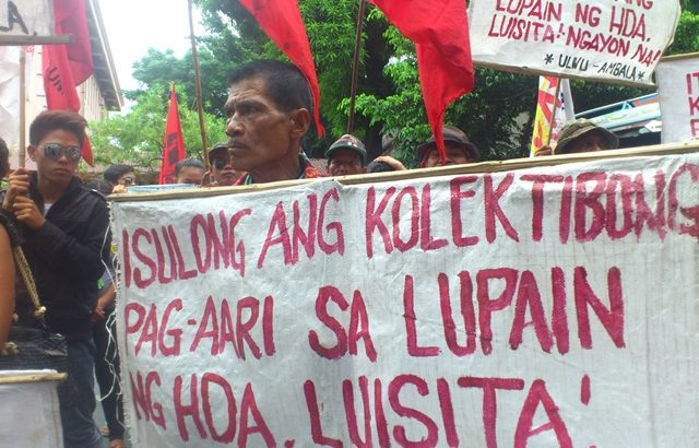 Arrest of 'Hacienda Luisita 11' absurd, ridiculous – lawyer