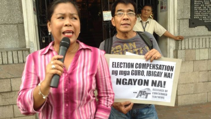 Teachers call for distribution of election honoraria