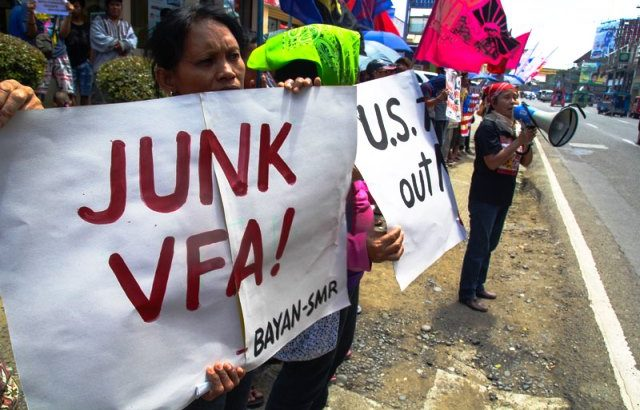 Davao Left opposes Aquino govt's 'access arrangements' with US, Japan military forces