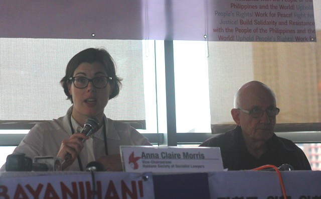 Foreign advocates call for resumption of peace talks between gov't, NDFP