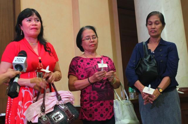 Widows of Ampatuan massacre victims disappointed in Aquino's speech
