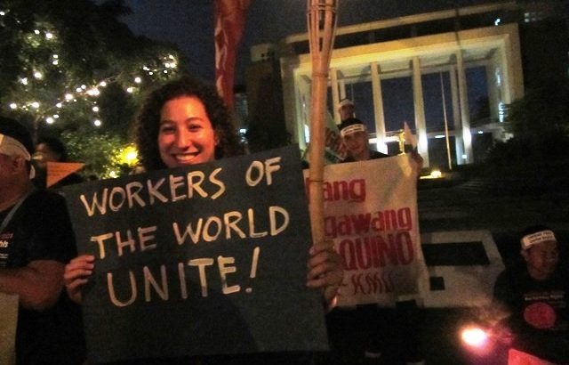 Unionists from Asia and the Pacific share same stories of attacks on workers' rights