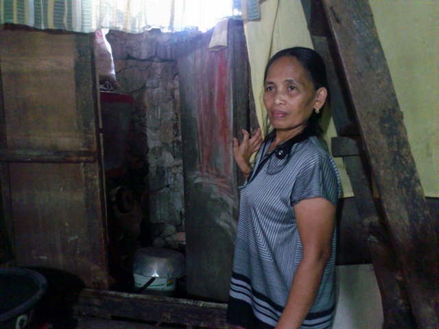 Nida Nanos says they will resist the planned demolition of their homes. (Photo by Janess Ann J. Ellao / Bulatlat.com
