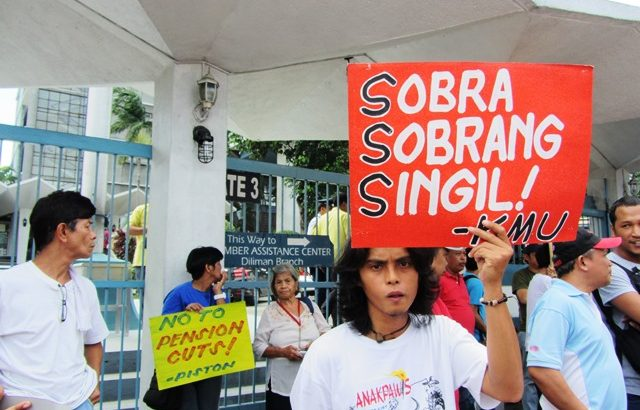 Bayan Muna urges Congress to pass SSS pension hike before break