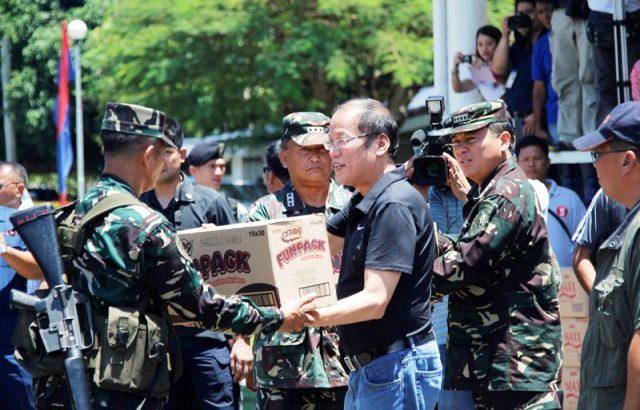 In Zambo, 'It was military strike since day One' — Aquino
