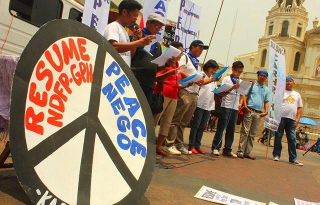 Advocates urge resumption of GPH-NDFP peace talks