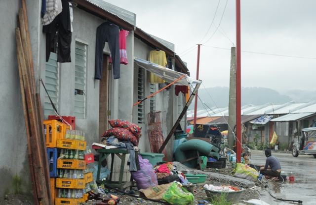 The relocation site in Rodriguez (formerly Montalban), Rizal. (Bulatlat file photo)