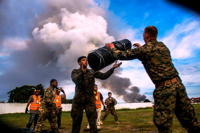 US participation in Zamboanga City attack, start of deepening US intervention