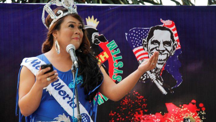 Davao's anti-pork protest welcomes 'Megan Yan'