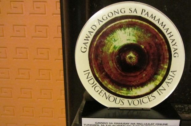Bulatlat.com wins in Gawad Agong for reporting on IP issues