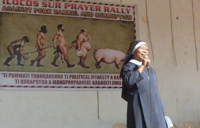 Ilocos Sur religious groups unite against pork barrel, corruption