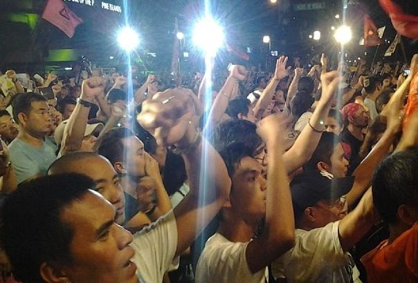 Thousands troop to Ayala for second 'Million People March'