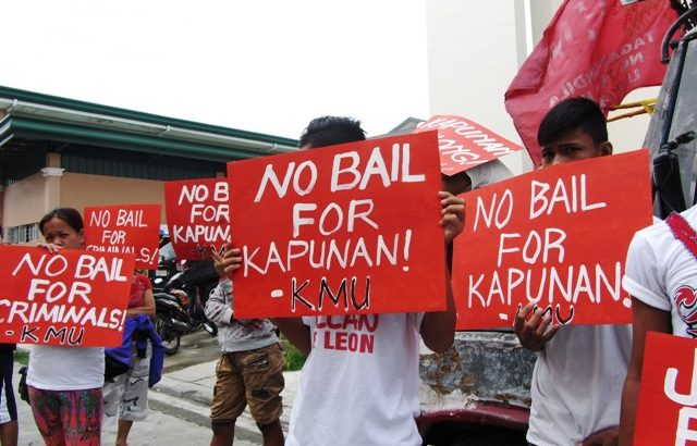 Jail the 'big fish,' workers ask court on 27th death anniversary of Olalia-Alay-ay