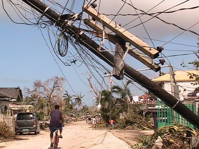 In Cebu. (Photo courtesy of Citizen's Disaster Response Center / Bulatlat.com)
