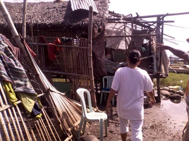 Typhoon Yolanda also devastated the island of Negros. (Photo courtesy of Citizen's Disaster Response Center / Bulatlat.com)